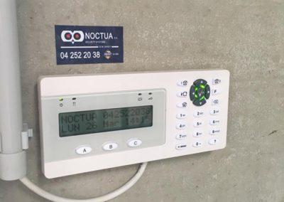 Clavier alarme UTC