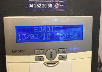 Clavier alarme eurotec waremme