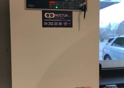 Smartline centrale incendie Q8 pompe essence