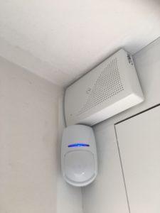 Détecteur intrusion et sirène